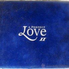 CDs de Música: DOS CD'S DE LA MEJOR MUSICA DE AMOR, ALBUM, LOVE 2 CON UN TOTAL DE 40 TEMAS, FUNDA DE TERCIOPELO. Lote 33315216