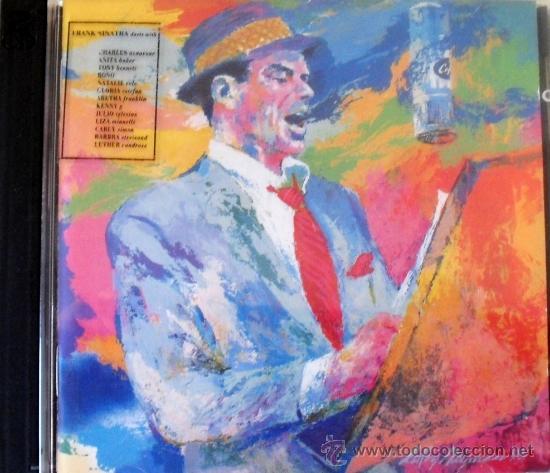 CD DE FRANK SINATRA, DUETOS I, CON 14 TEMAS INTERPRETADOS CON OTROS TANTOS ARTISTAS (Música - CD's Melódica )