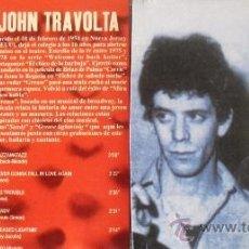 CDs de Música: 2 CD'S DE LOU REED Y JOHN TRAVOLTA CON 10 DE SUS MAS FAMOSOS EXITOS. Lote 33320367