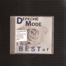 CDs de Música: DEPECHE MODE THE BEST. Lote 33343346