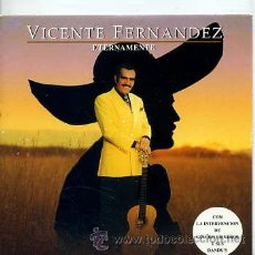 CDs de Música: VICENTE FERNANDEZ / ETERNAMENTE (CD SINGLE CARTÓN 1999). Lote 33362301