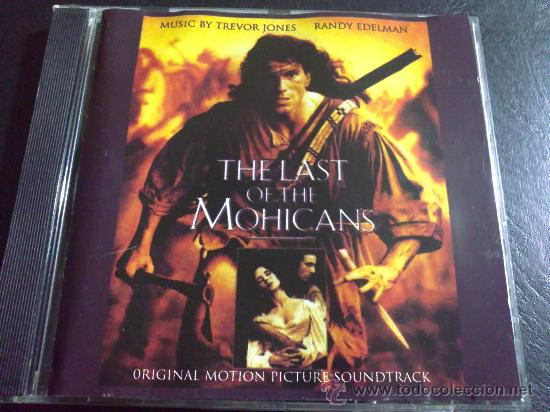 EL ÚLTIMO MOHICANO, THE LAST OF THE MOHICANS - MÚSICA POR TREVOR JONES Y RANDY EDELMAN (Música - CD's Bandas Sonoras)