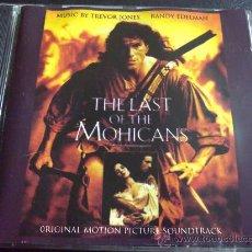 CDs de Música: EL ÚLTIMO MOHICANO, THE LAST OF THE MOHICANS - MÚSICA POR TREVOR JONES Y RANDY EDELMAN. Lote 33365882