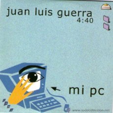 CDs de Música: JUAN LUIS GUERRA - CD SINGLE - MI PC - MADE IN EU - AÑO 1992. Lote 33376120