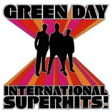 CDs de Música: GREEN DAY * CD * INTERNATIONAL SUPERHITS * BONUS * 21 TRACKS * PRECINTADO. Lote 33378575
