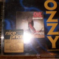 CDs de Música: CD - OZZY OSBOURNE - BLIZZARD OF OZZ - 9 CANCIONES SONY MUSIC 1995 – RE-MASTER – COLLECTORS EDITION. Lote 33383745