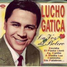 CDs de Música: LUCHO GATICA / LA VOZ DEL BOLERO / 3 CDS COMO NUEVOS. / DIVUCSA / 1995. Lote 33418950