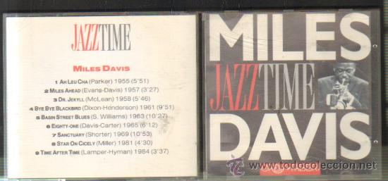 MILES DAVIS - JAZZ TIME CD-SOLEXT-302 (Música - CD's Jazz, Blues, Soul y Gospel)