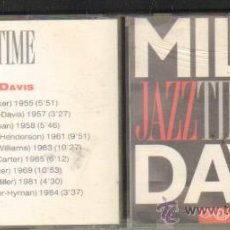 CDs de Música: MILES DAVIS - JAZZ TIME CD-SOLEXT-302. Lote 33420822