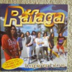 CDs de Música: RAFAGA IMPARABLES REMIXES CD SINGLE PROMOCIONAL PORTADA DE CARTON AÑO 2000 CONTIENE 4 TEMAS. Lote 33426076