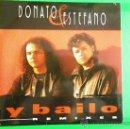 CDs de Música: DONATO & ESTEFANO Y BAILO REMIXES CD SINGLE CON LA PORTADA DE CARTON AÑO 1995 3 TEMAS PABLO FLORES. Lote 165517376