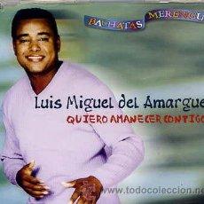 CDs de Música: LUIS MIGUEL DEL AMARGUE / ME HACE FALTA / QUIERO AMANCER CONTIGO + 1 (CD SINGLE CAJA 2001). Lote 33460822