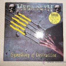 CDs de Música: MEGADETH SYMPHONY OF DESTRUCTION. Lote 33481349