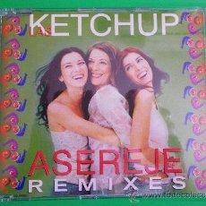 CDs de Música: LAS KETCHUP ASEREJE REMIXES CD SINGLE CON LA PORTADA DE PLASTICO DEL AÑO 2002 6 TEMAS. Lote 33516028