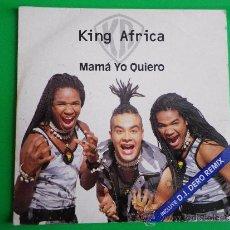 CDs de Música: KING AFRICA MAMA YO QUIERO REMIXES CD SINGLE DE CARTON AÑO 1995 CONTIENE 4 TEMAS. Lote 152316073