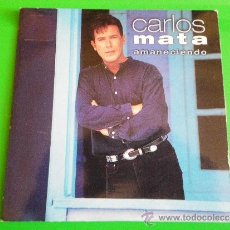 CDs de Música: CARLOS MATA AMANECIENDO REMIXES CD SINGLE PROMOCIONAL DE CARTON AÑO 1995 CONTIENE 3 TEMAS. Lote 45865990