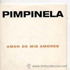 CD di Musica: PIMPINELA / AMOR DE MIS AMORES (CD SINGLE CARTÓN 1998). Lote 33631746