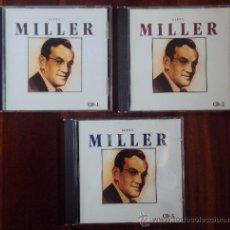 CDs de Música: COLECCION 3 CDS GLENN MILLER. 1996. Lote 33675911