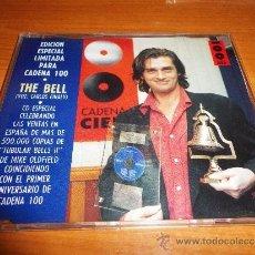 CDs de Música: MIKE OLDFIELD THE BELL CD SINGLE PROMOCIONAL CADENA 100 EDICION LIMITADA CARLOS FINALY PRECINTADO. Lote 77736402
