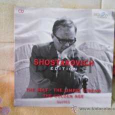 CDs de Música: SHOSTAKOVICH THE BOLT THE LIMPID STREAM THE GOLDEN AGE SUITES THEODORE KUCHAR. Lote 33740640