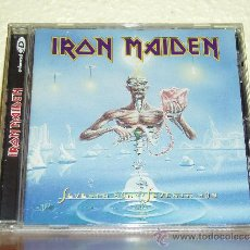 CDs de Música: IRON MAIDEN SEVENTH SON OF A SEVENTH SON ENHANCED CD. Lote 33732753