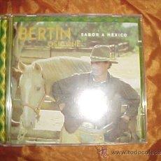 CDs de Música: BERTIN OSBORNE. SABOR A MEXICO. CD UNIVERSAL MUSIC SPAIN 2000. IMPECABLE(#). Lote 33751541