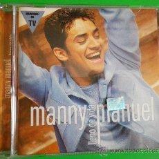 CDs de Música: MANNY MANUEL LLENO DE VIDA CD ALBUM DEL AÑO 1999 CONTIENE 9 TEMAS. Lote 222306781