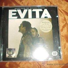 CDs de Música: EVITA. BSO. MADONNA. CD WARNER BROS 1996 GERMANY. Lote 33753278