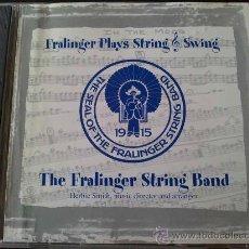 CDs de Música: THE FRALINGER STRING BAND - FRALINGER PLAYS STRING SWING - CD. Lote 33758811