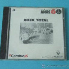CDs de Música: ROCK TOTAL. AÑOS 60. CAMBIO 16. Lote 39694640