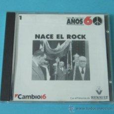 CDs de Música: NACE EL ROCK. AÑOS 60. CAMBIO 16. Lote 39694632