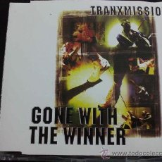 CDs de Música: TRANXMISSION, GONE WITH THE WINNER - CD SINGLE 4 TEMAS. Lote 33769010