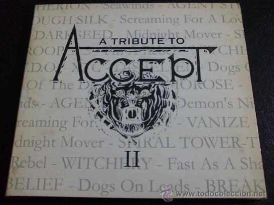 A TRIBUTE TO ACCEPT VOL II - VARIOS: WITCHERY, RAISE HELL, U D O ,  DISBELIEF Y OTROS