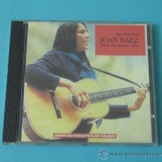 CDs de Música: THE ESSENTIAL JOAN BAEZ FROM THE HEART - LIVE. Lote 33771427