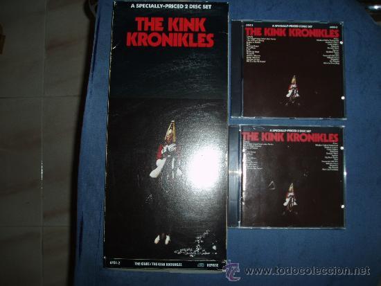THE KINKS DOBLE CD KINK KRONIKLES USA REPRISE CAJA LARGA MINT- (Música - CD's Rock)