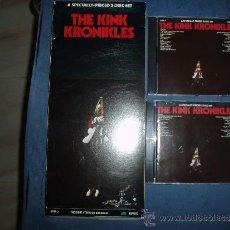 CDs de Música: THE KINKS DOBLE CD KINK KRONIKLES USA REPRISE CAJA LARGA MINT-. Lote 33790183