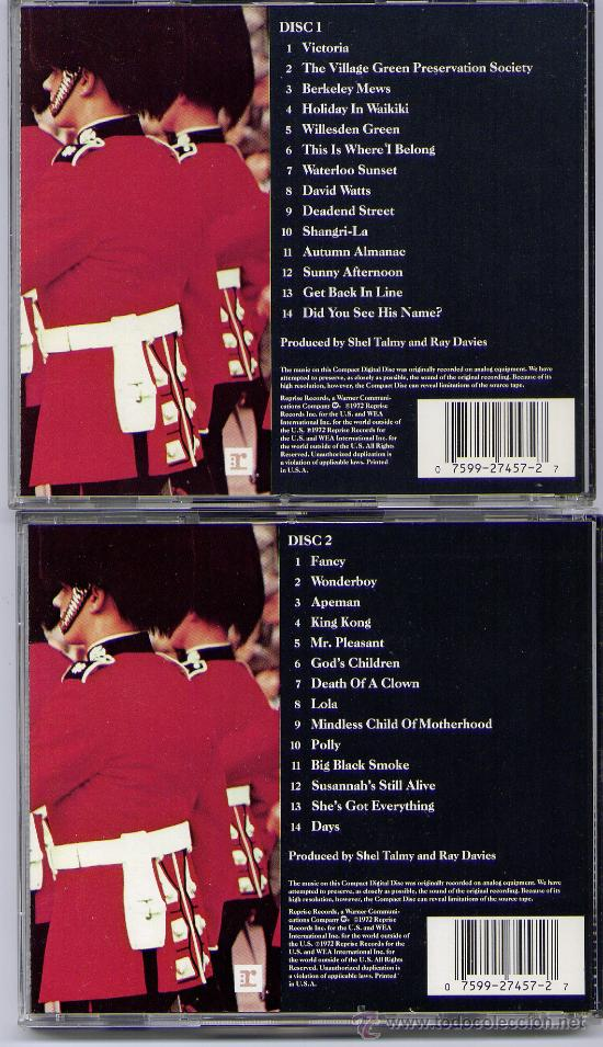 CDs de Música: THE KINKS DOBLE CD KINK KRONIKLES USA REPRISE CAJA LARGA MINT- - Foto 2 - 33790183