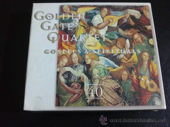 GOLDEN GATE QUARTET, GOSPELS & SPIRITUALS - DOBLE CD, 2 DISCOS (Música - CD's Jazz, Blues, Soul y Gospel)