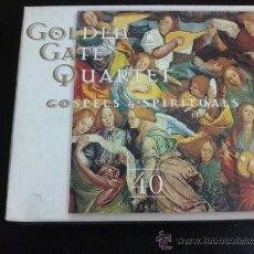 CDs de Música: GOLDEN GATE QUARTET, GOSPELS & SPIRITUALS - DOBLE CD, 2 DISCOS. Lote 33836230
