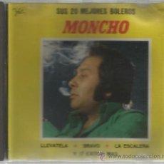 CD MONCHO : 20 GRANDES EXITOS - SUS 20 MEJORES BOLEROS