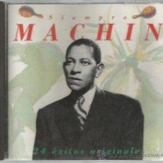 CDs de Música: CD ANTONIO MACHIN - SIEMPRE MACHIN - 24 EXITOS ORIGINALES . Lote 149319772