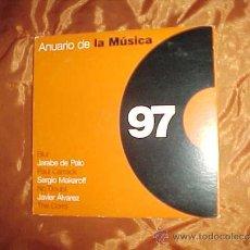 CDs de Música: ANUARIO DE LA MUSICA 97. BLUR. JARABE DE PALO. PAUL CARRACK ... CD PROMOCIONAL. Lote 33893104