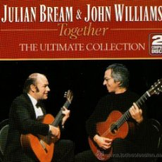 CDs de Música: DOBLE CD ALBUM: JULIAN BREAM & JOHN WILLIAMS - THE ULTIMATE COLLECTION - 40 TRACKS - RCA VICTOR 1994. Lote 33955149