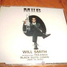 CDs de Música: MIIB. WILL SMITH. INTRODUCING TRA-KNOX BLACK SUITS COMIN' (NOD YA HEAD) CD PROMOCIONAL. . Lote 33970523