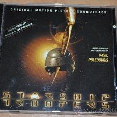 CDs de Música: CD BANDA SONORA STARSHIP TROOPERS POR BASIL POLEDOURIS - 1997 - MUY NUEVO. Lote 33975423
