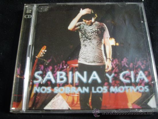 SABINA Y CIA-NOS SOBRAN LOS MOTIVOS-2 CDS (Música - CD's Rock)