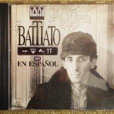 CDs de Música: FRANCO BATTIATO EN ESPAÑOL CD ALBUM DEL AÑO 1985 CANTADO EN ESPAÑOL 14 TEMAS MUY RARO. Lote 120688979