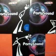CDs de Música: 3 CD´S PARTY SOUND VOLUMEN 1 - 2 Y 3. Lote 34000584