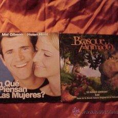 CDs de Música: ¿EN QUE PIENSAN LAS MUJERES?. EL BOSQUE ANIMADO. BSO. 2 CD PROMOCIONALES. Lote 34001466