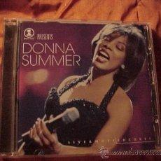 CDs de Música: DONNA SUMMER. LIVE & MORE ENCORE!. CD SONY MUSIC AUSTRIA 1999. Lote 34006447
